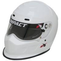 Impact Helmets - IMPACT SNELL SA2015 HELMET CLEARANCE SALE! - Impact - Impact Champ Helmet - Snell SA 2015 - White - X-Large