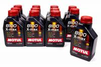 Recently Added Products - Motul - Motul 8100 X-Max Motor Oil 0W40 Synthetic 1 L - Set of 12