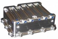Drivetrain Components - Meziere Enterprises - Meziere Enterprises Stock Depth Transmission Pan Heat Exchanger Filter Spacer Included Aluminum