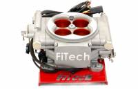 Air & Fuel System - Fitech Fuel Injection - FiTech Go Street EFI Fuel Injection Throttle Body Square Bore 55 lb/hr Injectors - Aluminum