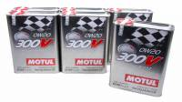 Motul - Motul 300V Racing Motor Oil 0W20 Synthetic 2 L - Set of 6