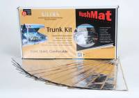 """Hushmat - Hushmat Ultra Trunk Kit Heat and Sound Barrier 12 x 23"""" Sheet 1/8"""" Thick Rubber - Silver"""