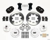 """Recently Added Products - Wilwood Engineering - Wilwood Engineering Dynalite Brake System Front 4 Piston Caliper 12.19"""" Solid Rotor - Offset"""