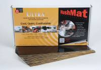 "Hushmat - Hushmat Ultra Floor/Dash Kit Heat and Sound Barrier 12 x 23"" Sheet 1/8"" Thick Rubber - Black"