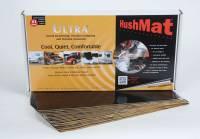 "Hushmat - Hushmat Ultra Floor/Dash Kit Heat and Sound Barrier 12 x 23"" Sheet 1/8"" Thick Rubber - Black"