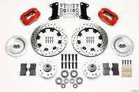 """Recently Added Products - Wilwood Engineering - Wilwood Engineering Dynalite Brake System Front 4 Piston Caliper 12"""" Drilled/Slotted Rotor - Offset"""