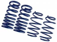 Recently Added Products - Steeda - Steeda Lowering Suspension Spring Kit Progressive 4 Coil Springs Blue Powder Coat - Ford Coyote/V6