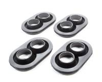 Kinser Air Filters - Kinser Air Filters Rubber Sprint Car Air Box Seal Black Kinser Air Box - Set of 4