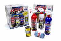 Paint & Finishing - Lucas Oil Products - Lucas Oil Products Slick Mist Detailer 4 Interior Detailer/4 Tire and Trim Shine/4 Speed Wax