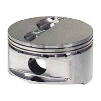 "JE Pistons - JE Pistons 18 Degree Flat Top Piston Forged 4.125"" Bore 1/16 x 1/16 x 3/16"" Ring Grooves - Minus 6.0 cc"