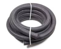 Rubber Push-Lock Hose - Fragola Series 8000 Push-Lite Race Hose - Black - Fragola Performance Systems - Fragola Performance Systems Series 8000 Hose Push-Lok 12 AN 20 ft - Braided Nylon/Rubber