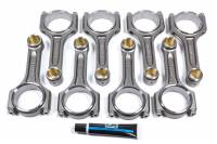 "Connecting Rods and Components - Connecting Rods - Bullet Pistons - Bullet Pistons I Beam Connecting Rod 5.700"" Long Bushed 7/16"" Cap Screws - Forged Steel - SB Chevy"