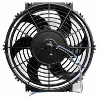 "Electric Fans - Proform Electric Fans - Proform Performance Parts - Proform Performance Parts High Performance Electric Cooling Fan 10"" Fan Push/Pull 1000 CFM - Curved Blade"