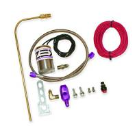 Air & Fuel System - Comp Cams - Comp Cams Single Outlet Nitrous Oxide Purge Kit V-Pattern Purge Cloud Solenoid/Wiring/Fittings/Button 4 AN Threads - Kit