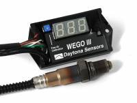 Daytona Sensors - Daytona Sensors Wideband Oxygen Sensor WEGO III Single Channel Data Logger - 0-5V Output