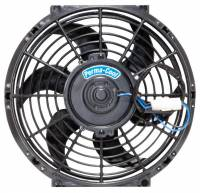 "Cooling & Heating - Perma-Cool - Perma-Cool Standard Electric Cooling Fan 10"" Fan Puller 1450 CFM - Curved Blade"