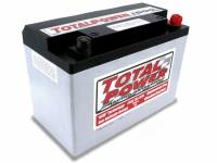 "Total Power Racing Batteries - Total Power Battery AGM Battery 12V 1500 Cranking Amps Top Post Screw"" Terminals - 9.875"" L x 6.875"" H x 5.25"" W"