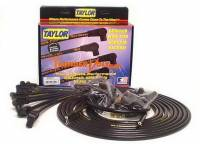 Spark Plug Wires - Taylor Spark Plug Wires - Taylor Cable Products - Taylor Cable Products ThunderVolt 50 Spark Plug Wire Set Spiral Core 10.4 mm Black - 90 Degree Plug Boots