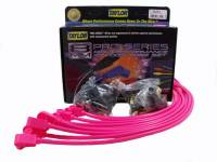 Spark Plug Wires - Taylor Spark Plug Wires - Taylor Cable Products - Taylor Cable Products Spiro-Pro Spark Plug Wire Set Spiral Core 8 mm Hot Pink - 90 Degree Plug Boots