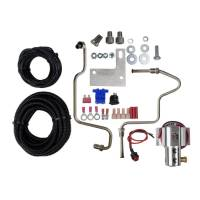 "Exhaust System - Hurst Shifters - Hurst Shifters Roll Control Line Lock 1/8"" NPT Inlet/Outlet Brake Lines/Fittings/Fuse/Switch/Warning Light Stainless - Mopar LC-Body 2011-13"