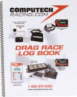 Tools & Pit Equipment - Computech Systems - Computech Systems 24 Sheets Drag Log Book Pad