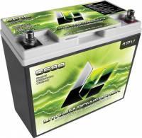 """Lithium Pros - Lithium Pros Lithium-Ion Power Pack Battery 12V 800 Cranking Amps Top Post Screw"""" Terminals - 7.16"""" L x 6.63"""" H x 3.05"""" W"""