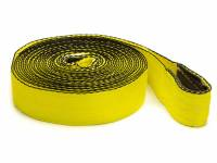 "Tools & Pit Equipment - Tow Straps - Tuflex - Tuflex 2"" Wide Tow Strap 30 ft Long 15,000 lb Capacity Nylon - Yellow"