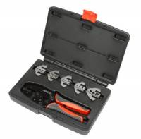 Tools & Pit Equipment - PerTronix Performance Products - PerTronix Performance Products Quick Change Wire Crimping Tool Ratcheting Mechanism Cushion Grip Case/Dies - Steel