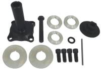 "Oil Pump Drives and Components - Oil Pump Drive Kits - Moroso Performance Products - Moroso Performance Products 3-1/2"" Long Mandrel Crank Mandrel Drive Kit Guides/Hardware/Spacers Aluminum Black Anodize - Small Block Ford"