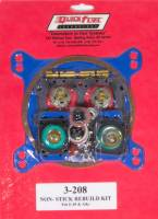 Exhaust System - Quick Fuel Technology - Quick Fuel Technology Performance Carburetor Rebuild Kit Holley 4150/Quick Fuel Carburetors - Gas