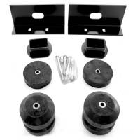 Timbren - Timbren SES Helper Spring Kit Stock Height Hardware Included Rear - Rubber - Ford Fullsize Truck 1997-2004