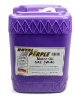 Royal Purple Racing Oil - Royal Purple® High Performance Motor Oil - Royal Purple - Royal Purple 5W40 Motor Oil Synthetic - 5 gal