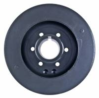"Fluidampr - Fluidampr 7.250"" OD Harmonic Balancer Steel Black Internal Balance - Mopar Early Hemi"