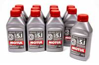 Exhaust System - Motul - Motul DOT 5.1 Brake Fluid Synthetic 500 ml - Set of 12
