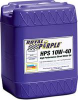 Royal Purple - Royal Purple HPS High Performance Street Motor Oil ZDDP 10W40 Synthetic - 5 gal