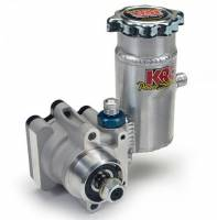 Recently Added Products - KRC Power Steering - KRC Power Steering Pro-Series III Power Steering Pump 1600 psi Bolt-On Tank Aluminum - Natural