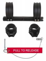 H3R Performance - H3R Performance Clamp-On Fire Extinguisher Mount Tube Mount Quick Release Nylon - Black