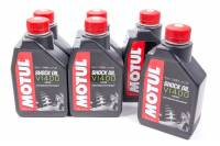 Shock Parts & Accessories - Shock Oil - Motul - Motul Shock Oil Factory Line Shock Oil VI 400 Semi-Synthetic 1 L - Set of 12
