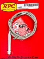 Drivetrain Components - Racing Power - Racing Power Adjustable Kickdown Cable Steel Universal 700R4/200R4 - Each