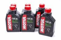 Shock Parts & Accessories - Shock Oil - Motul - Motul Fork Oil Expert Light Shock Oil 5W Semi-Synthetic 1 L - Set of 6