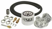 Recently Added Products - Derale Performance - Derale Performance Remote Transmission Filter Filter/Fittings/Hose/Mount - Universal