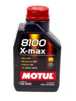 Recently Added Products - Motul - Motul 8100 X-Max Motor Oil 0W40 Synthetic 1 L - Each