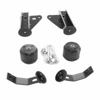 Timbren - Timbren SES Helper Spring Kit Stock Height Hardware Included Front - Rubber - Dodge Fullsize Truck 2006-12