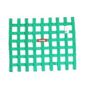 "Ribbon Window Nets - 18"" x 24"" Ribbon Window Nets - RaceQuip - RaceQuip SFI-27.1 Window Net 1"" Webbing 18 x 24"" Rectangle Green - Each"