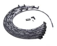 Spark Plug Wires - Moroso Spark Plug Wires - Moroso Performance Products - Moroso Performance Products Ultra 40 Spark Plug Wire Set Spiral Core 8.65 mm Black - 90 Degree Plug Boots