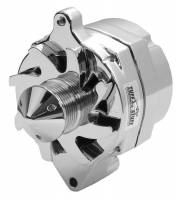 Recently Added Products - Tuff Stuff Performance - Tuff Stuff Performance 100 amp Alternator 12V Internal Regulator 6 Rib Serpentine Pulley - Chrome