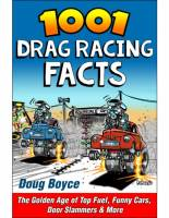 S-A Design Books - S-A Design Books 1001 Drag Racing Facts Book 344 Pages