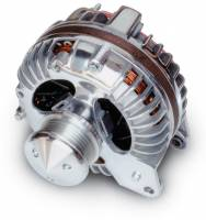 Recently Added Products - March Performance - March Performance 100 amp Alternator 12V 1-Wire Aluminum Case - Polished