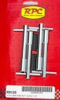 """Exhaust System - Racing Power - Racing Power Stud Valve Cover Fastener 1/4-20"""" Thread 1.375"""" Long Wing Nuts - 4-1/4"""" Long"""