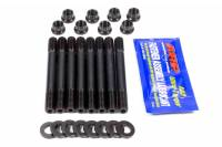 Engine Hardware and Fasteners - Main Cap Stud Kits - ARP - ARP 12 Point Nuts Main Stud Kit 2-Bolt Mains Chromoly Black Oxide - GM V6